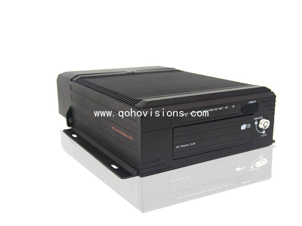 4ch 1080P 2TB HDD GPS 3G WIFI MDVR