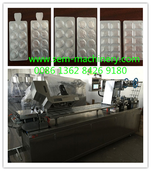 DPP-250 Automatic Blister Packing Machine