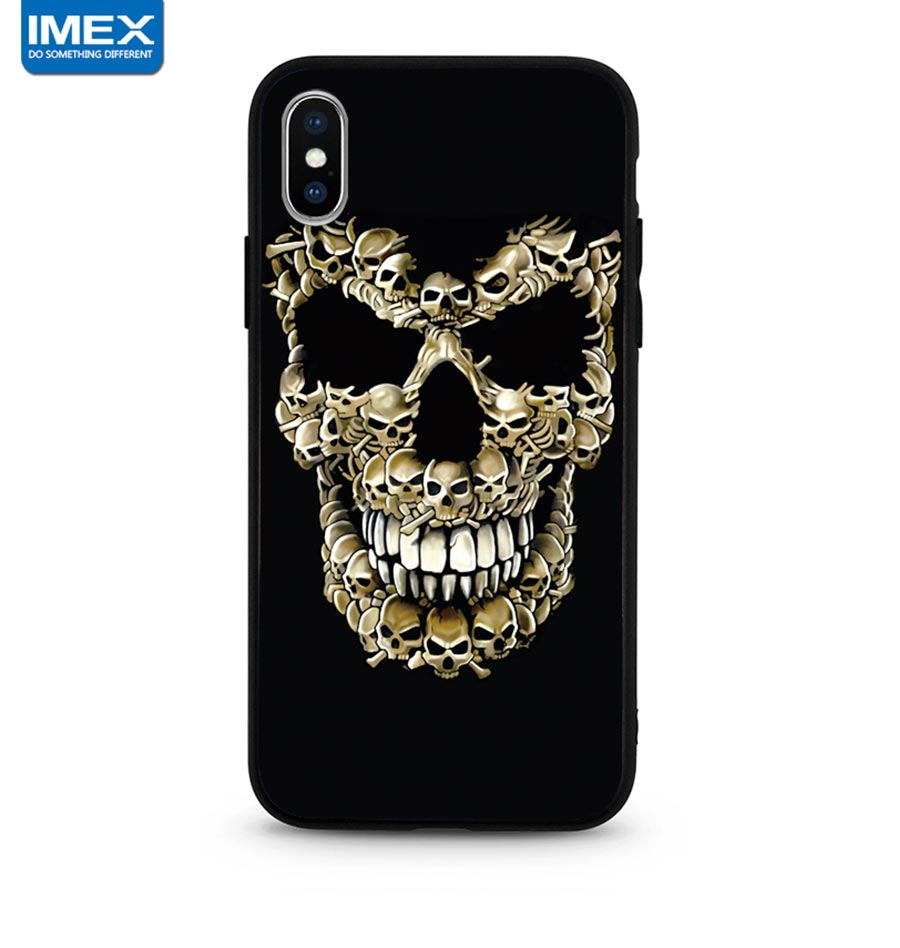 3D STEREO TPU PC PHONE CASES FOR IPHONE XS