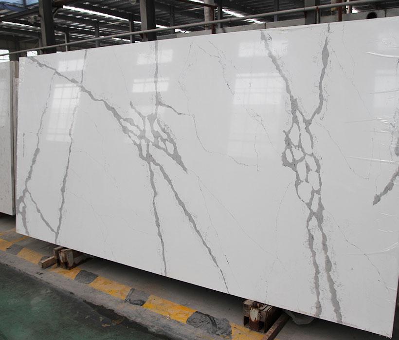 Marble Pattern Calacatta Quartz Countertop
