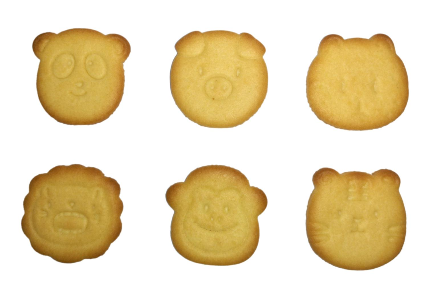 OEM factroy direct price bear shaped biscuit