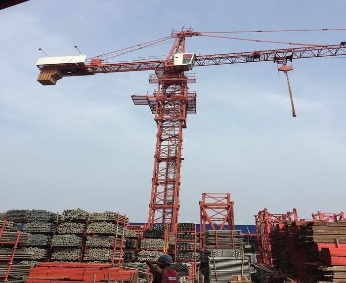 6 T Top Kit Tower Crane TC5610