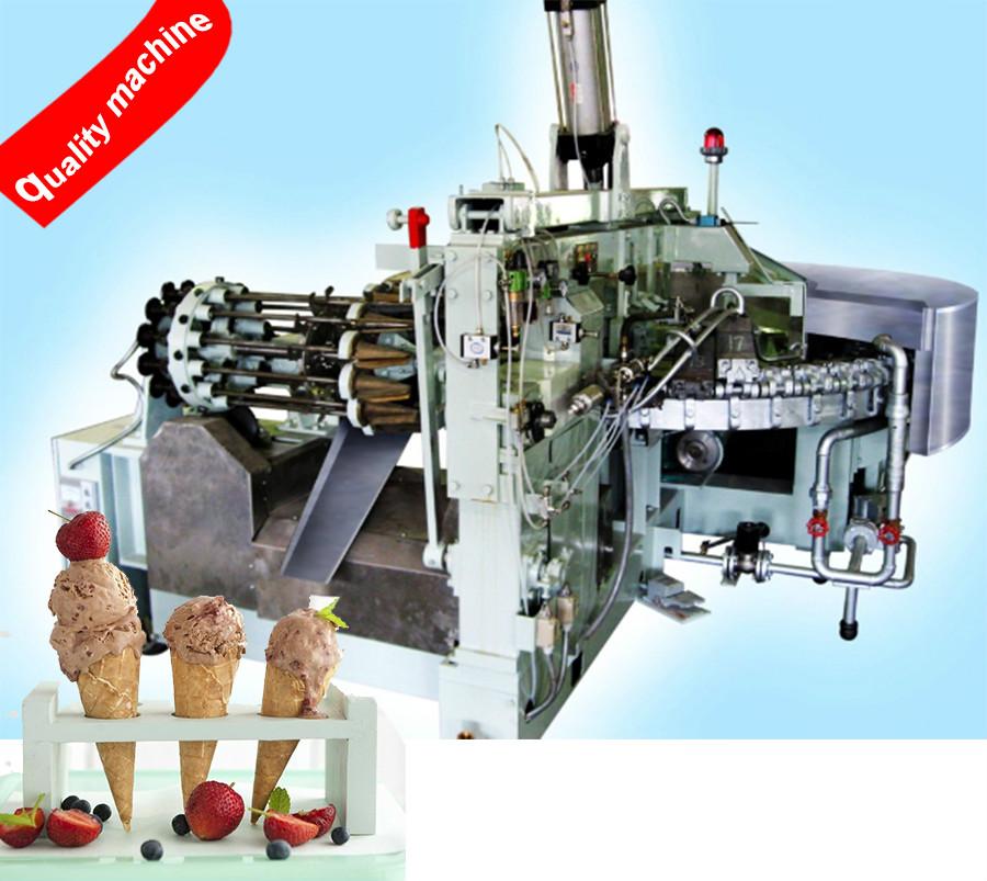 Full Automatic Rolled Sugar Cone Machine Manufacturer