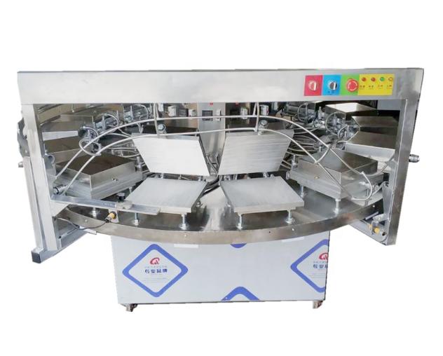 Semi-Automatic Commercial Ice Cream Waffle Cone Making Machine