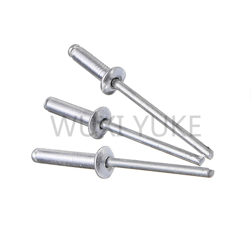 Open end blind rivet