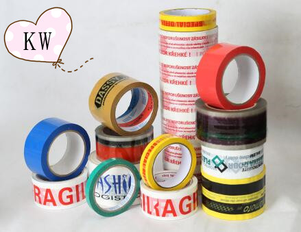 Pirnted packing tape with custom logo