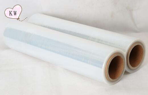 Hand use lldpe stretch film stretch wrap