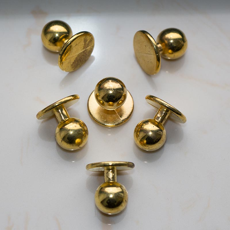Golden Chef Buttons,Plastic chef stud button,Chef stud buttons,Chef uniform button,  Plastic chef stud button