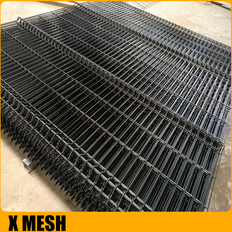 hot dipped galvanized 3D Curved Wire Mesh Fence Panel For Court yard