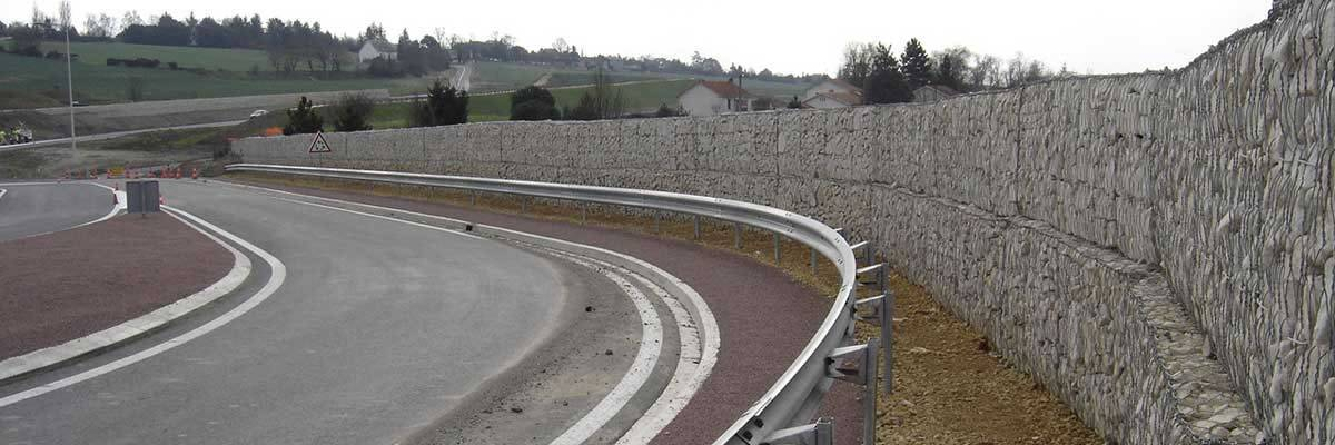 Gabion Sound Barrier - A Best Solution to Noise Problems