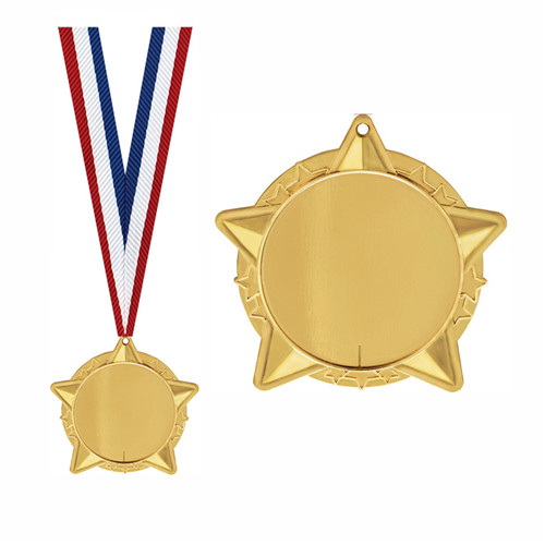 Wholesale Gold Silver Bronze Sports Medals Custom Medal