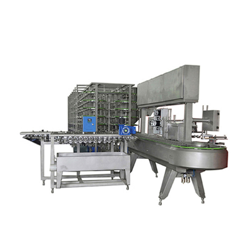China original stick funny face ice cream extrusion line with hardening tunnel