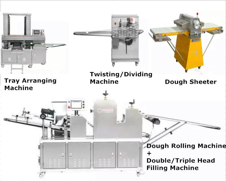 Baking machine ice cream mochi processing equipment for ice cream mochi production line/ice cream mochi baking equipment