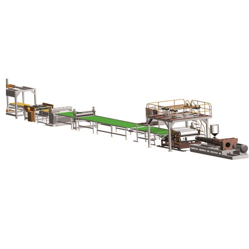 LVT Flooring Sheet Line