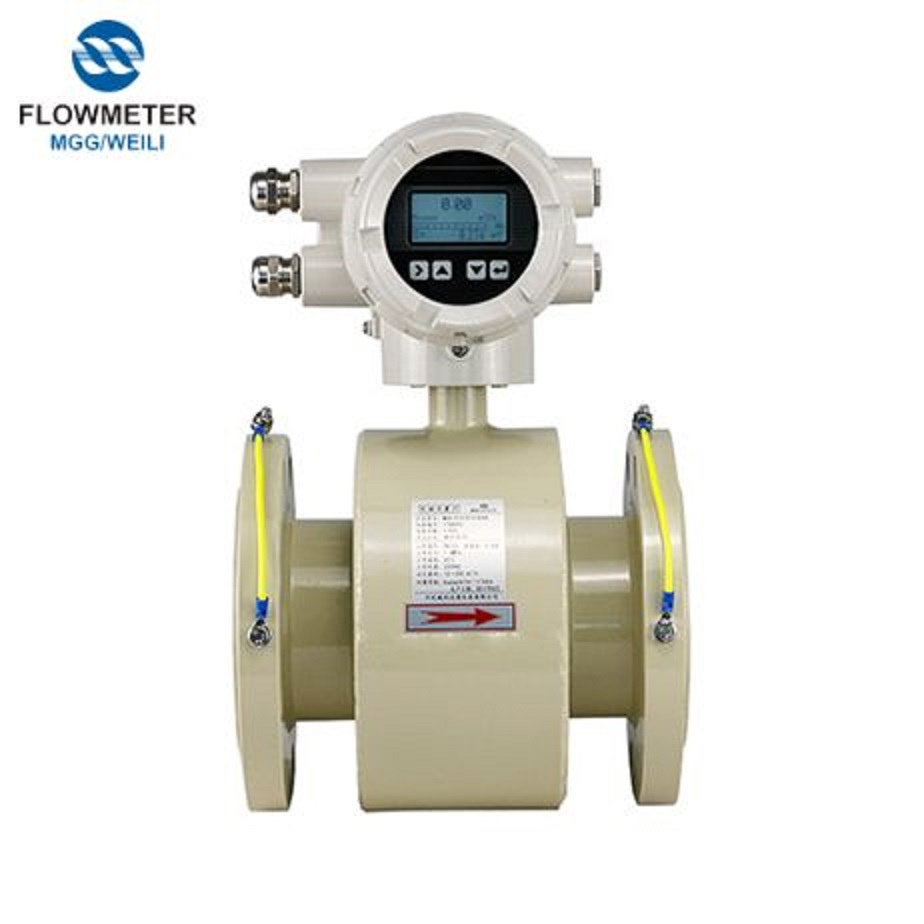 DN65 Caliber Waste Water Mechanical Acid Liquid Flow Meter