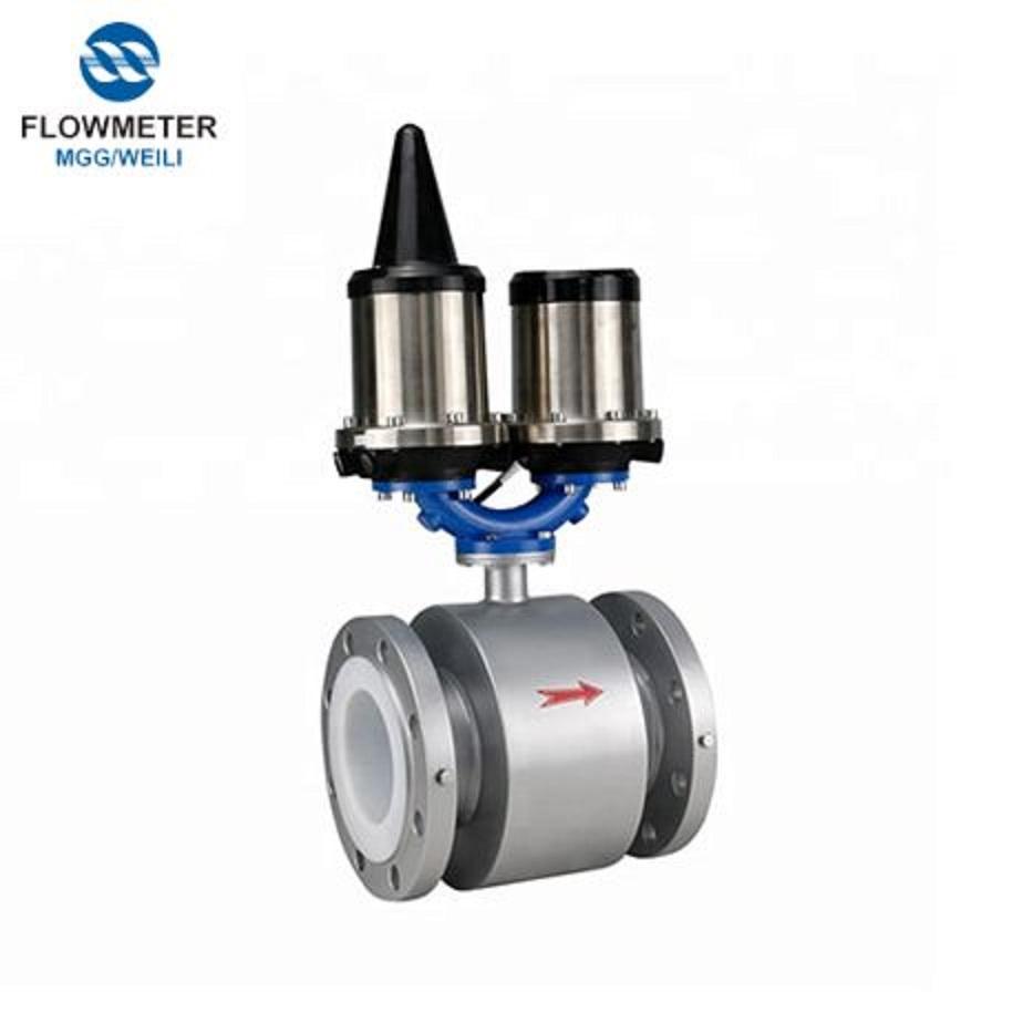 3.6V Lithium Battery Powered Rs485 Electromagnetic Flowmeter