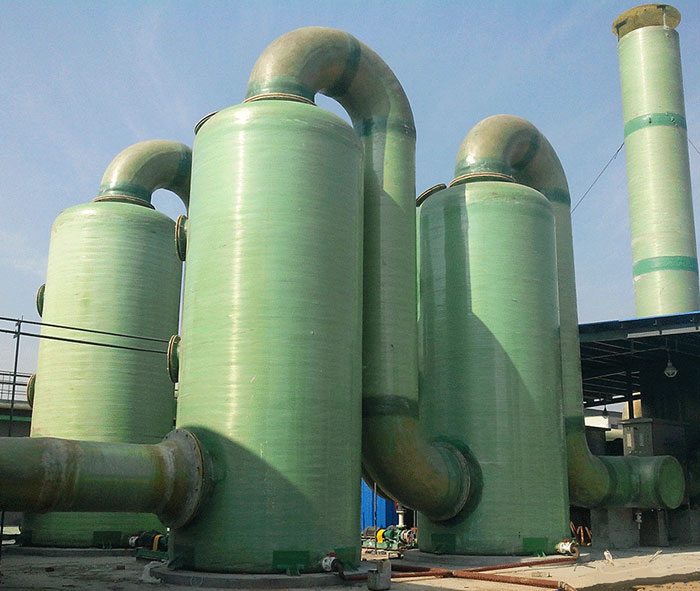 High Quality Easy Operate FRP Desulfurization Tower
