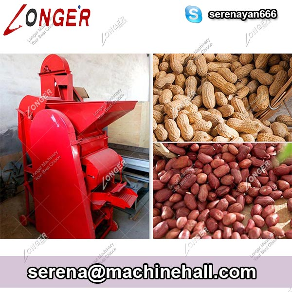 New Automatic Peanut Shelling Machine / Groundnut Shell Removing Machine