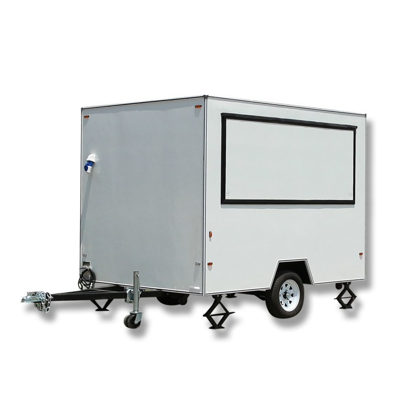 Chinese Manufacturer mobile ice cream trailer street food vending cart for sale