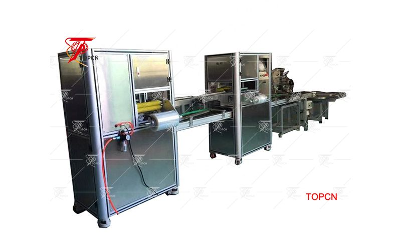 High Productivity Soap Wrapping Machine