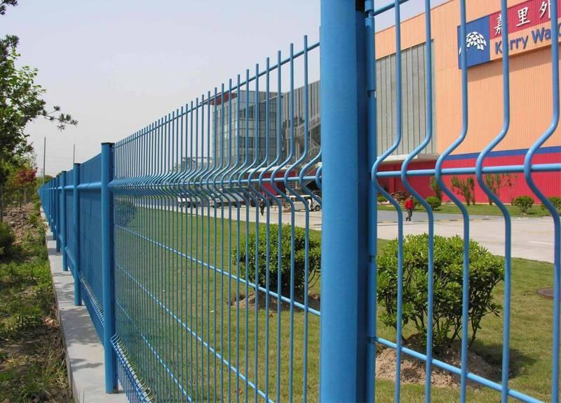 Peach Post Fence