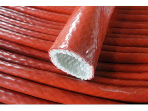 Silicone coated Fiberglass Sleeving Fiberglass pipe silicone sleeve