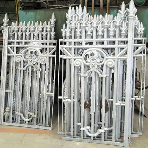 Aluminum Casting Fence, CAST ALUMINUM FENCE, Aluminum Fence Casting, Garden Fence Casting Foundry, Park Fence Casting Foundry