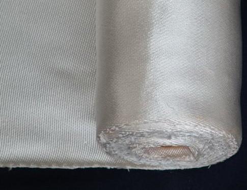 Silica fiberglass fabric