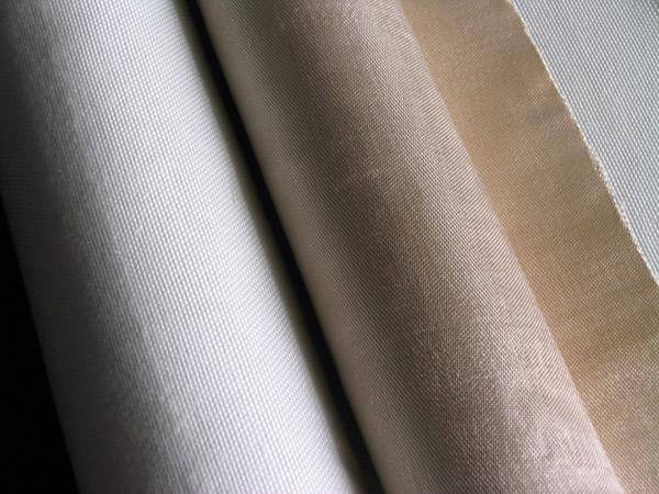 Textured glass fiber fabric