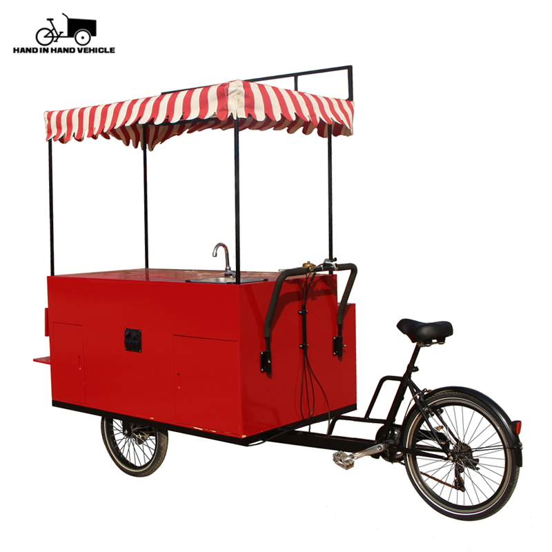 Mobile Ice cream kiosk/trolley Electric tricycle vending mobile food cart