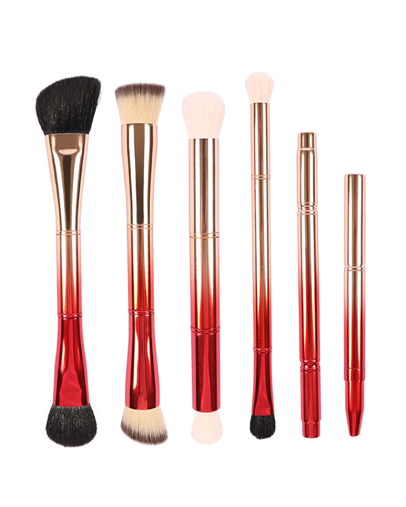 DOUBLE-END 6 PIECES BRUSH COLLECTION  Double-end 6 Pieces Brush Collection Supplier China