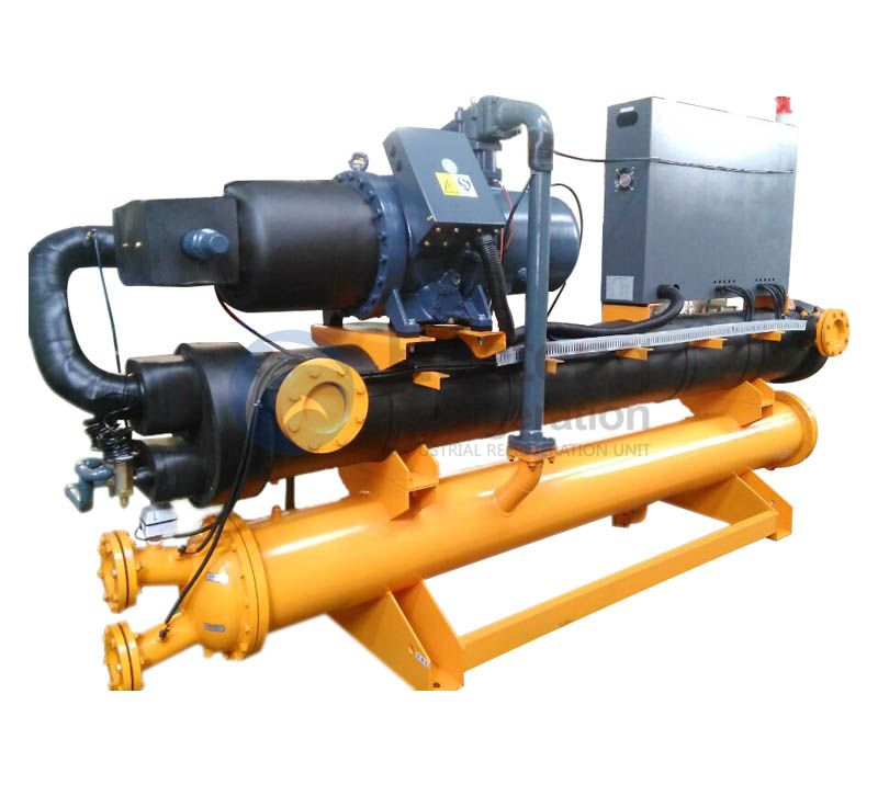 China Custom Auto Switch Water Cooled Screw Chiller