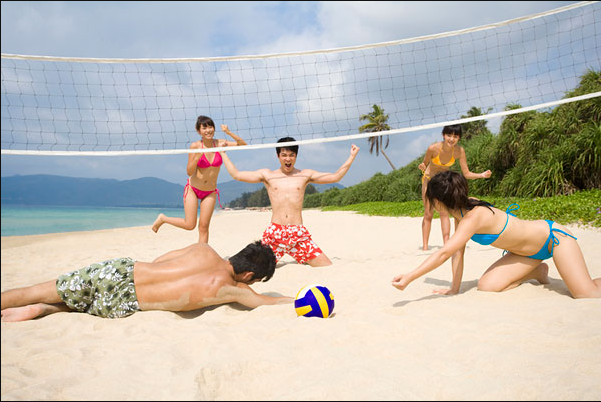 Beach Volleyball Court/Tennis Court/Football Field Used Snow White Dolomite Sand