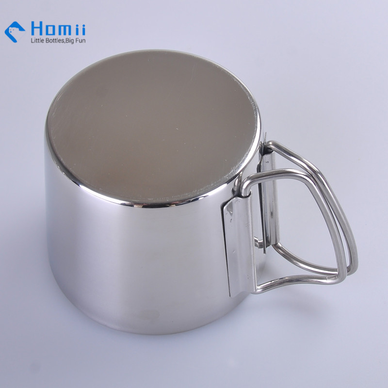 Hangzhou homii Industry stainless steel double wall coffee thermos cup set insulated flask coffee tumblers wine mug