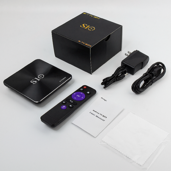 R-TV BOX S10 Amlogic S912