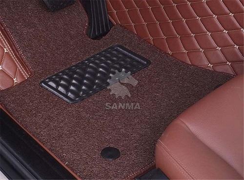 Double Layer Car Floor Mat