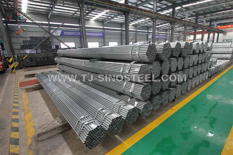 Pre-Galvanized Steel Pipe (Round)