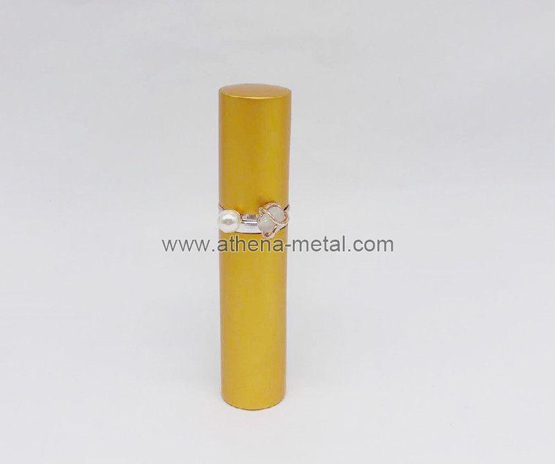 Travel spary perfume bottle 5ml with jewelry Ring decoration   custom perfume bottles   china OEM Perfume Cap