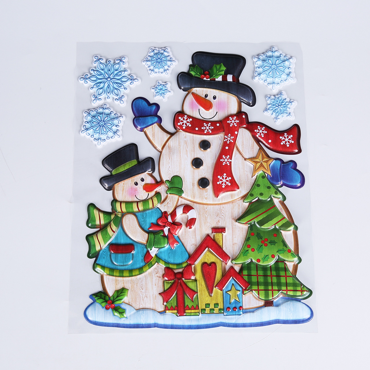 Pop up Christmas Sticker For Window Home Decorations
