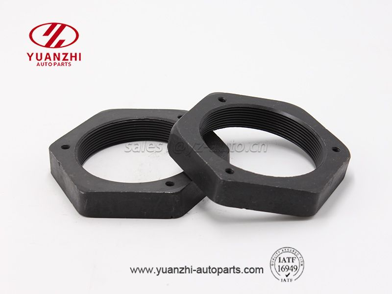 Black Carbon Steel Hexagon Heavy Nuts