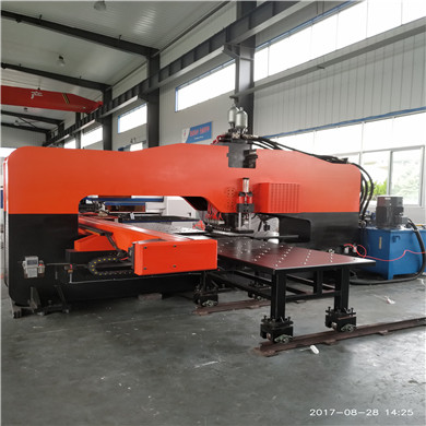 Hydraulic Thick Plate CNC Turret Punching Machine