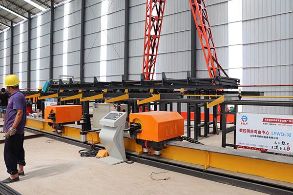 CHINA CNC REBAR BENDING CENTER