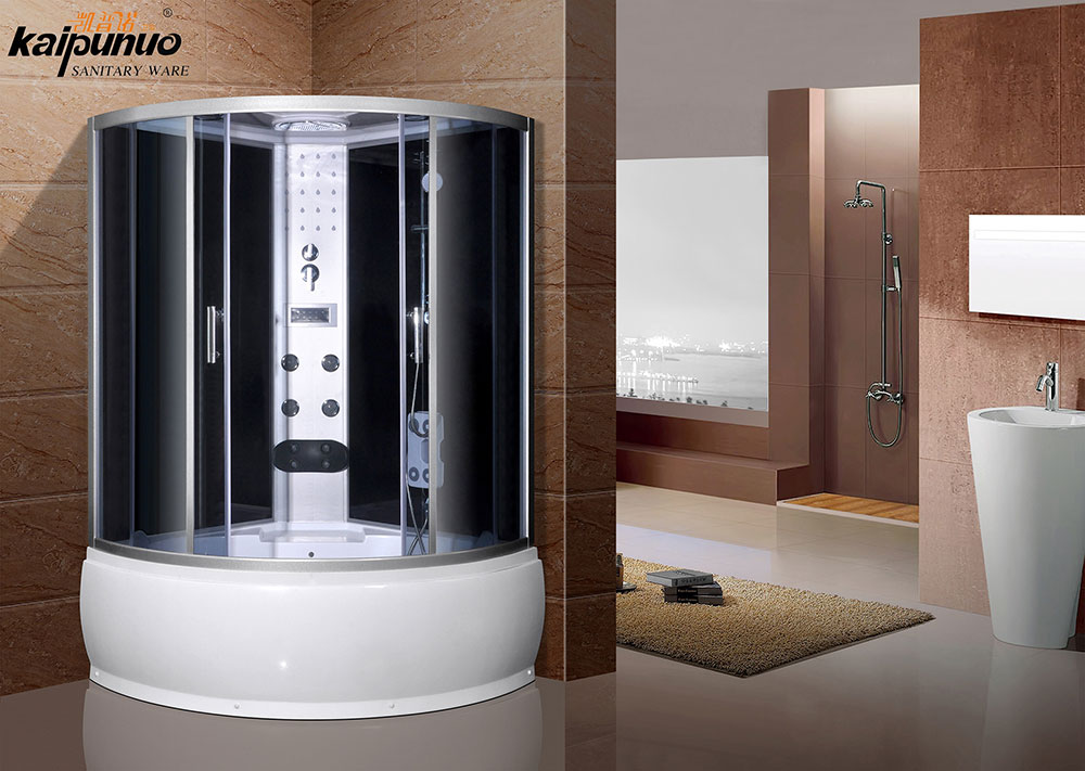 shower cabins with roof